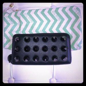 Black spike Deux Lux Wallet Brand New